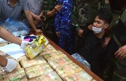 Biên phòng Hà Tĩnh triệt phá vụ vận chuyển ma túy cực lớn