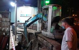 Bình Dương: Sập công trình thi công thoát nước, 2 người thương vong