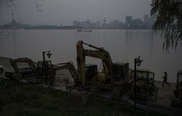 Trung Quốc phát động chiến dịch truy quét khai thác cát trái phép trên sông Dương Tử