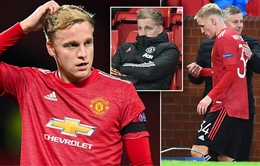 Hết kiên nhẫn, Van de Beek muốn rời Man Utd