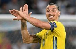 Zlatan Ibrahimovic trở lại ĐTQG Thụy Điển