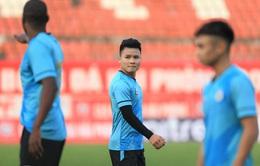 V.League 2021: Quang Hải tiếp tục vắng mặt trận CLB Hà Nội tiếp Đông Á Thanh Hoá