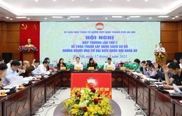 Hà Nội: Nhất trí danh sách sơ bộ 72 ứng cử viên đại biểu Quốc hội khóa XV