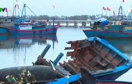 Bất tiện với tàu cá xa bờ khi cập cảng Sa Huỳnh