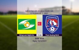 VIDEO Highlights: SLNA 1-0 Than Quảng Ninh (Vòng 4 LS V.League 1-2021)