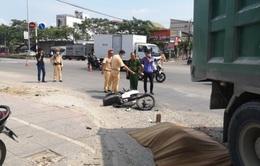 Ô tô tải chở đá cán tử vong người đàn ông đi xe máy