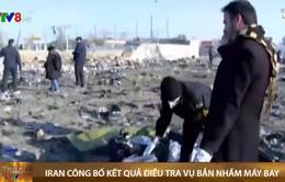 Iran công bố kết quả điều tra vụ bắn nhầm máy bay chở khách Ucraina