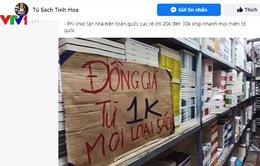 Sách 1.000 đồng trên mạng xã hội - Tiền nào của nấy