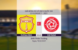 VIDEO Highlights: CLB Nam Định 1-2 CLB Viettel (Vòng 4 LS V.League 1-2021)