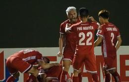 Kết quả, BXH LS V.League 1-2021: Thắng Bình Dương, CLB Hải Phòng vươn lên nhì bảng, HAGL chia điểm ở Hà Tĩnh