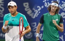 Liên tiếp bất ngờ tại bán kết giải quần vợt Dubai Championships