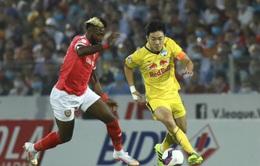 Hồng Lĩnh Hà Tĩnh 0–0 Hoàng Anh Gia Lai: Chia điểm kịch tính!