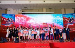 Hơn 500 học sinh thể hiện bản lĩnh trong cuộc thi hùng biện tiếng Anh