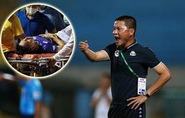 HLV Chu Đình Nghiêm nói gì sau chấn thương kinh hoàng của Hùng Dũng?