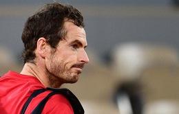 Andy Murray rút lui khỏi giải quần vợt Miami mở rộng