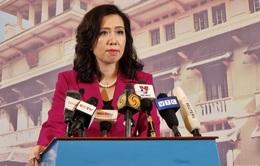 Việt Nam yêu cầu Trung Quốc chấm dứt xâm phạm chủ quyền ở quần đảo Trường Sa