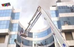 Cháy bệnh viện điều trị bệnh nhân COVID-19 ở Ấn Độ