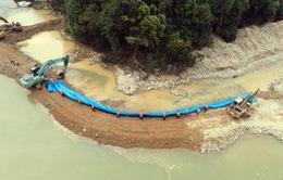 Tìm kiếm nạn nhân Rào Trăng 3: Hoàn thành ngăn đập, tạo dòng chảy mới tại khu vực bãi bồi thứ nhất