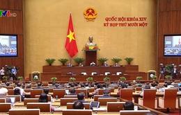 Quốc hội thảo luận báo cáo nhiệm kỳ của Chủ tịch nước và Chính phủ