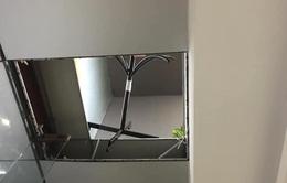 Điều tra vụ thủng trần chung cư khiến 2 người bị thương