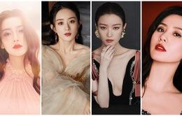 Triệu Lệ Dĩnh, Angelababy,  Lưu Thi Thi, Nghê Ni lần đầu đọ sắc trong cùng khung hình