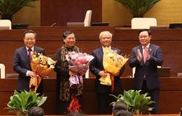 Quốc hội thông qua việc miễn nhiệm 3 Phó Chủ tịch Quốc hội