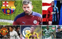 Chuyển nhượng bóng đá quốc tế hôm nay (4/3): Barca muốn đưa Aguero về đá cặp với Messi, Man Utd đòi nợ Inter vì Lukaku