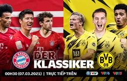 """Lịch thi đấu và trực tiếp vòng 24 Bundesliga hôm nay: Tâm điểm """"Siêu kinh điển"""" nước Đức, Bayern Munich – Dortmund"""