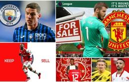 Chuyển nhượng bóng đá quốc tế hôm nay (6/3): Man Utd rao bán De Gea, Dortmund chọn xong người thay thế Haaland