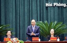 Thủ tướng: Hải Phòng cần có quyết tâm mới và đạt những cột mốc mới trong phát triển