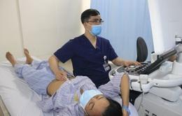Nội soi cắt toàn bộ khối u nhầy lớn trong tim bệnh nhân
