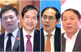 Các tân Bộ trưởng bày tỏ quyết tâm như thế nào sau khi được bổ nhiệm?