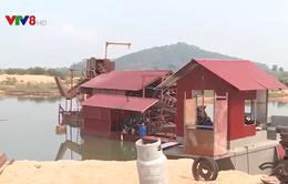 Phú Yên: Doanh nghiệp bơm hút cát khi chưa đước cấp phép