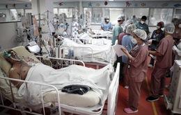 Brazil ghi nhận số bệnh nhân trẻ cần điều trị tại ICU tăng mạnh