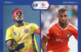CLB Hải Phòng 0–0 SHB Đà Nẵng: Chia điểm tại Lạch Tray (Vòng 9 LS V.League 1-2021)