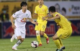 ẢNH: HAGL thắng kịch tính ở phút bù giờ trước Nam Định