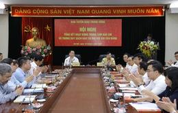 Thành công Đại hội XIII có đóng góp hiệu quả của Trung tâm Báo chí