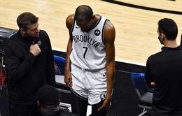 Kevin Durant lại gặp chấn thương