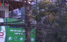 Thanh Hóa: Nguy cơ cháy nổ từ cáp viễn thông