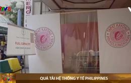 Philippines: Quá tải hệ thống y tế