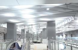 Cận cảnh nhà ga ngầm thứ 3 của tuyến metro số 1 TP Hồ Chí Minh