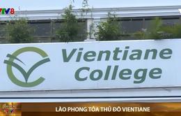 Lào phong tỏa thủ đô Vientiane