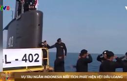 Vụ tàu ngầm Indonesia mất tích: phát hiện vệt dầu loang