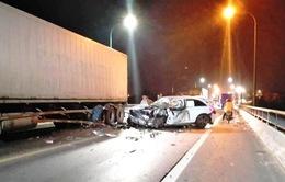 Tai nạn liên hoàn trên Quốc lộ 1A khiến 3 người thương vong