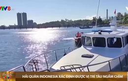 Hải quân Indonesia xác định được vị trí tàu ngầm chìm