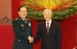 Bộ Quốc phòng Việt Nam - Trung Quốc tăng cường trao đổi hợp tác, quan hệ hữu nghị