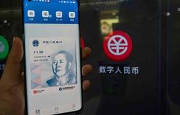 """Trung Quốc tăng """"phép thử"""" cho Nhân dân tệ số"""