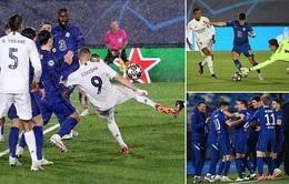 Real Madrid 1-1 Chelsea: The Blues giành lợi thế sau trận lượt đi
