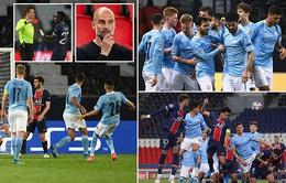 PSG 1-2 Man City: Ngược dòng kịch tính