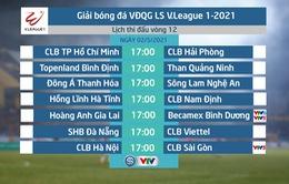 Lịch thi đấu và trực tiếp vòng 12 V.League 2021: Tâm điểm Hoàng Anh Gia Lai – Becamex Bình Dương, CLB Hà Nội – CLB Sài Gòn